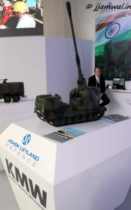 Ashok Leyland, KMW Tracked artillery system