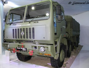 Ashok Leyland. Super Stallion 8x8 Truck