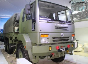Ashok Leyland. Super Stallion 6x6 Truck
