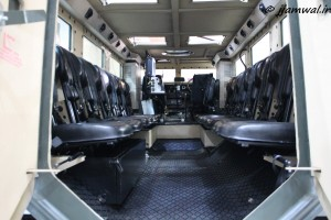 Inside Mine Protected Vehicle India by BAE & Mahindra JV , Defence Land Systems India
