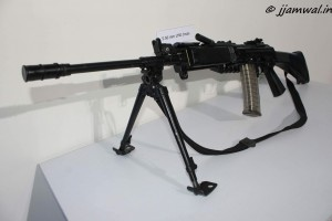 INSAS 5.56mm Light Machine Gun