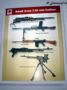OFB's 7.62mm Machine Guns ad rifle