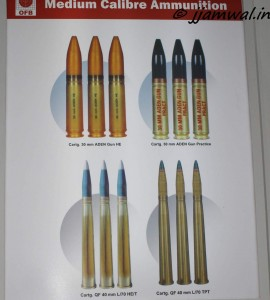 30mm and 40mm Medium calibre ammunition