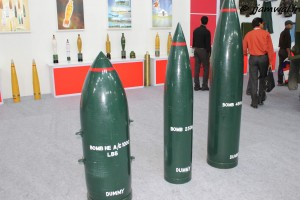 Aircraft dropped dumb bombs