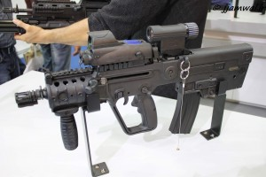 TAVOR CTAR 21 Compat Model with Minimon I Monocular and MEPRO MOR Relfex Sight