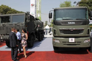 TATA 6x6 and 8x8 Trucks