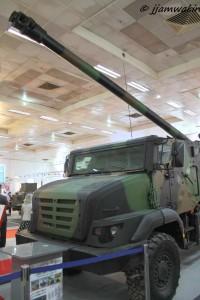 Caesar Mk2 wheeled self-propelled howitzer