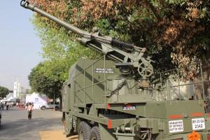 Truck Mounted 105mm gun