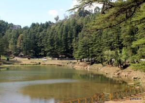 Dal lake in Mcleodganj