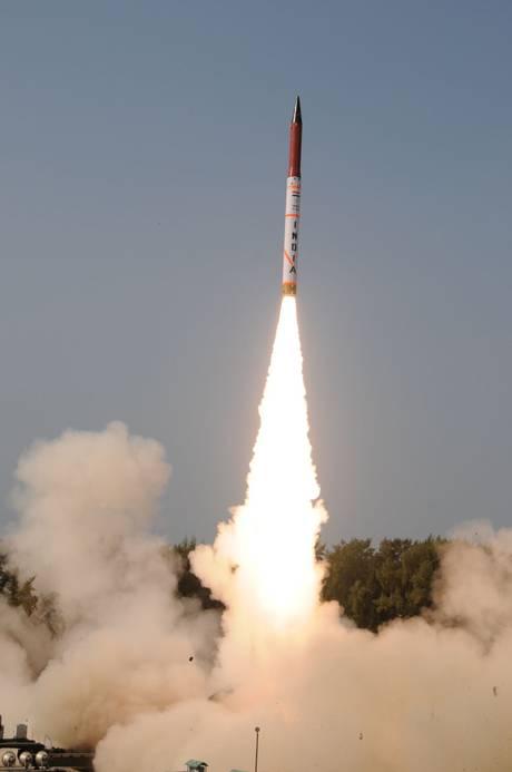 Agni-IV missile