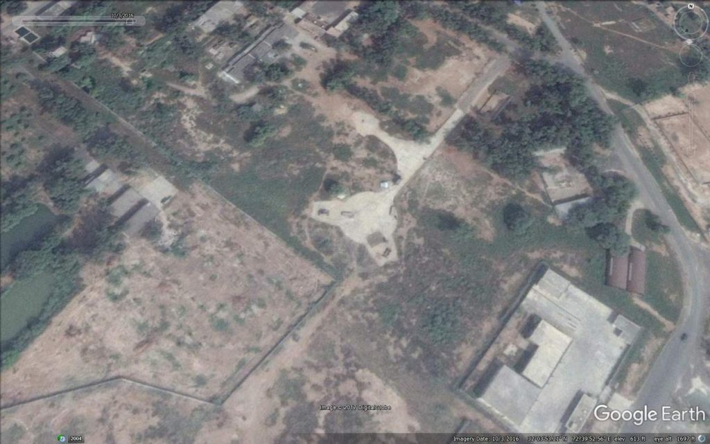 Air defence site