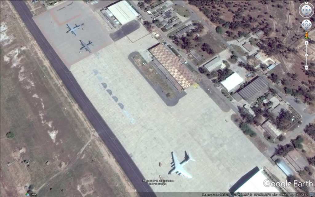 PAF Mushaf, PAF Mushaf, Some transport aircraft parked in open