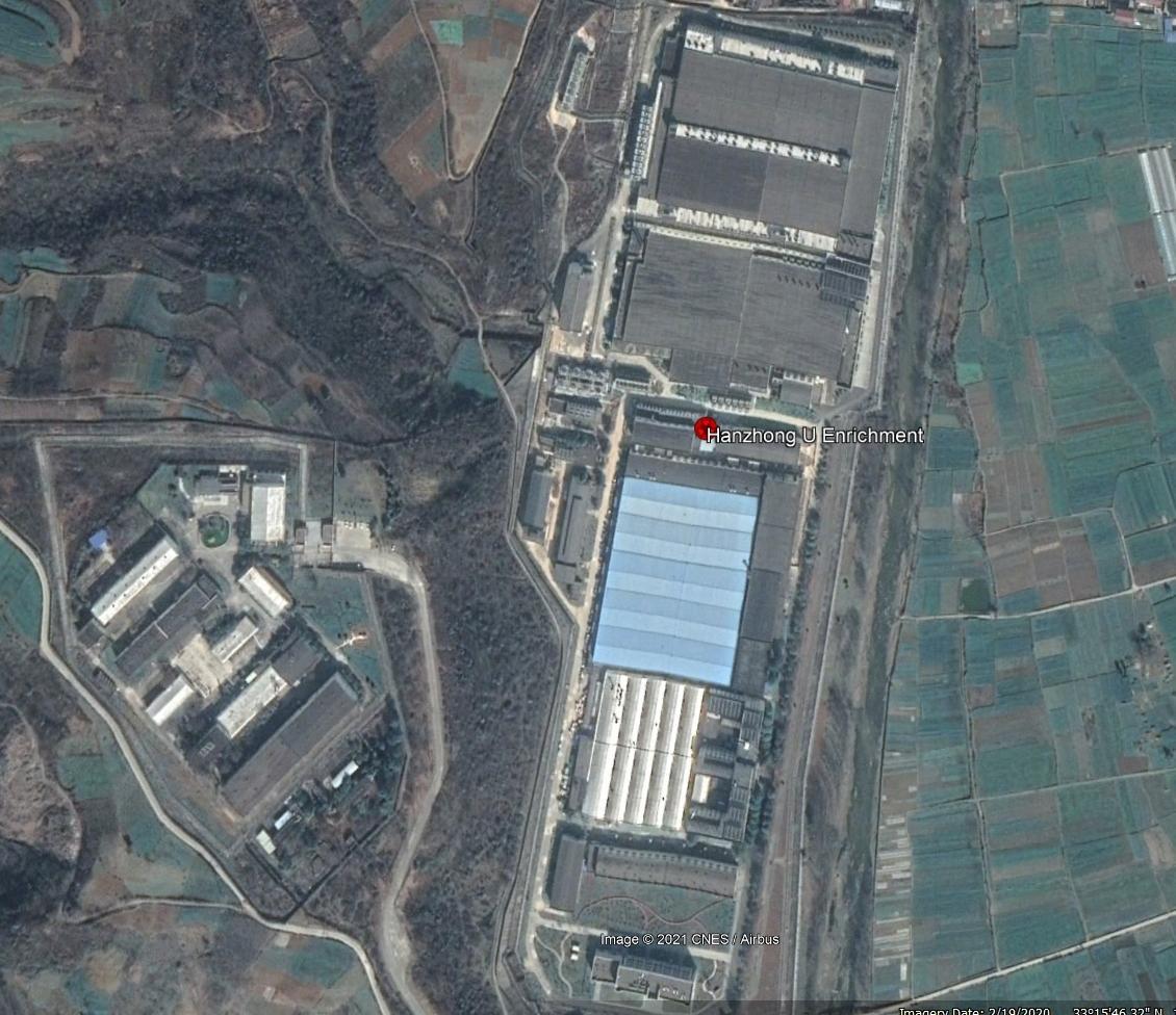 Hanzhong Uranium Enrichment Plant