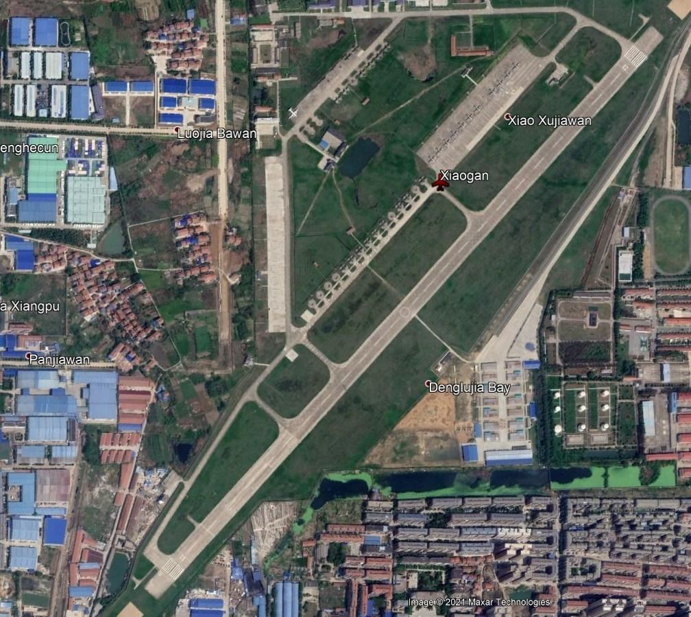 One of 3 known airbases belonging to Chinese Airborne Corps