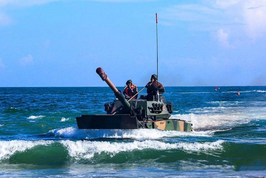 IMAGE 21: Amphibious light tank ZTD-05 of PLA Marine Corps (navyrecognition.com)