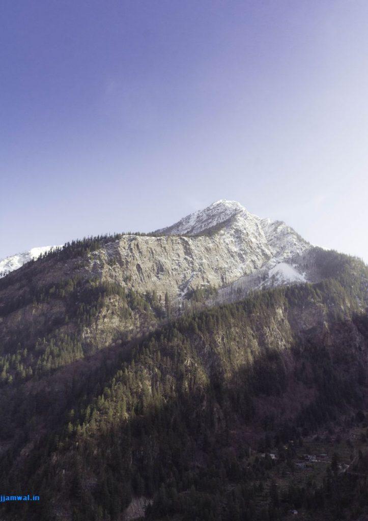 A beautiful mountain somewhere around Karcham