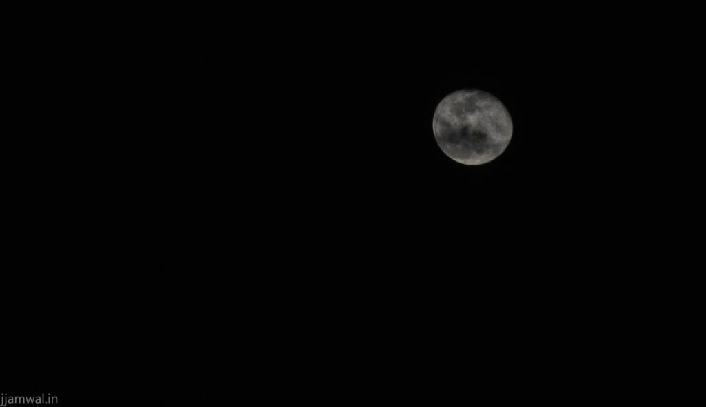 A cloudy night