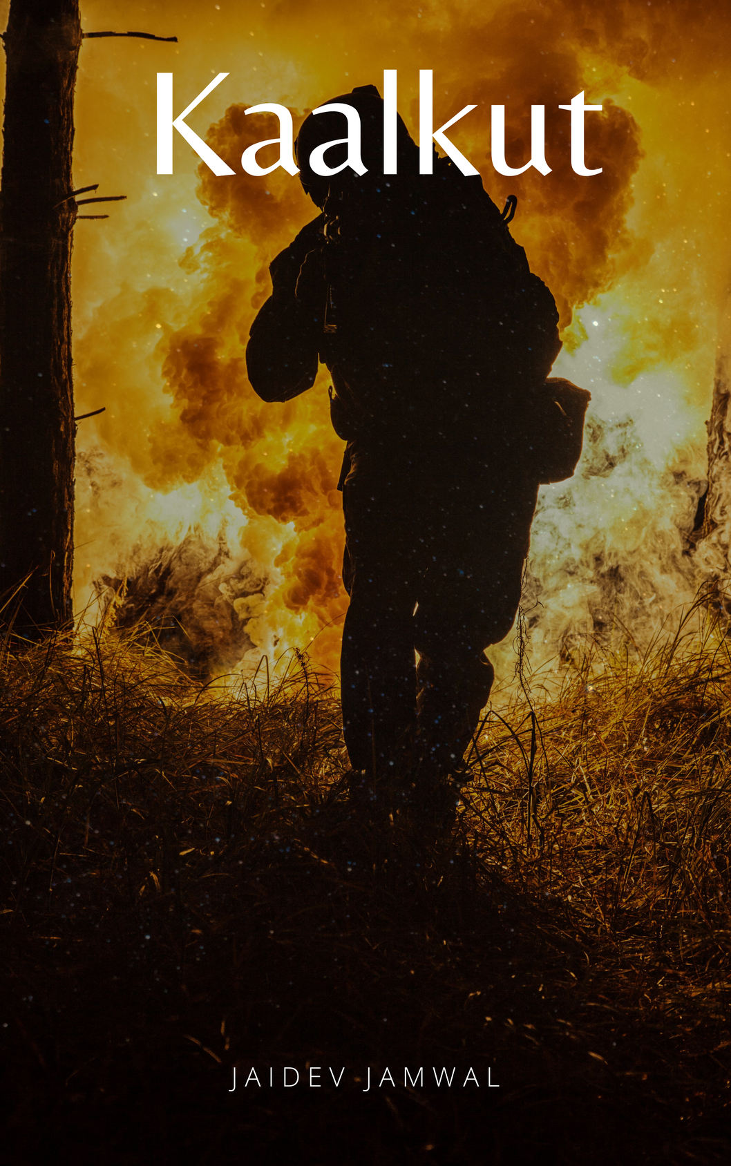 Kaalkut military thriller book cover