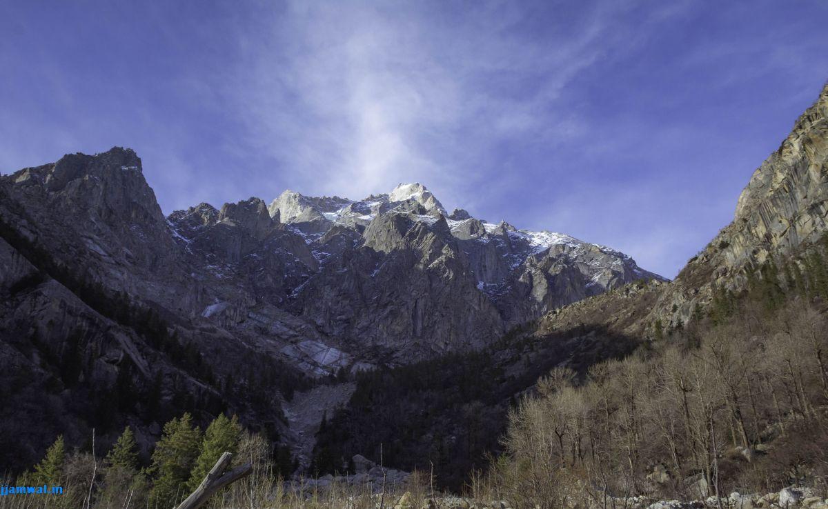 Himalayan mountains near Sangla, Himachal Pradesh